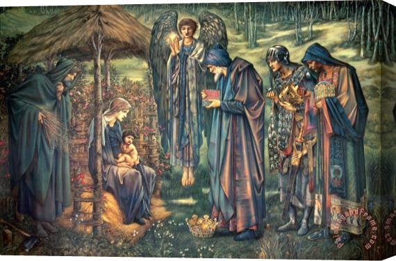 Edward Burne Jones The Star of Bethlehem Stretched Canvas Print / Canvas Art