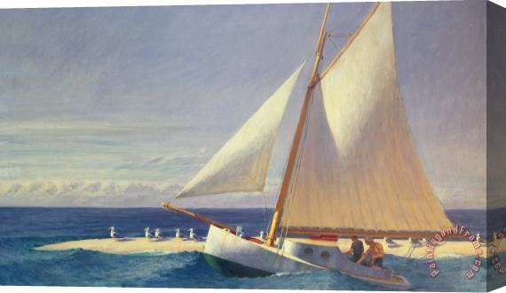 Edward Hopper Sailing Boat Stretched Canvas Print / Canvas Art