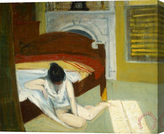 Edward Hopper Summer Interior Stretched Canvas Print / Canvas Art
