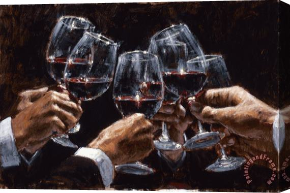 Fabian Perez For a Better Life VI Stretched Canvas Print / Canvas Art