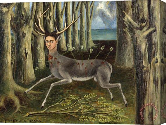 Frida Kahlo The Wounded Deer 1946 Stretched Canvas Print / Canvas Art