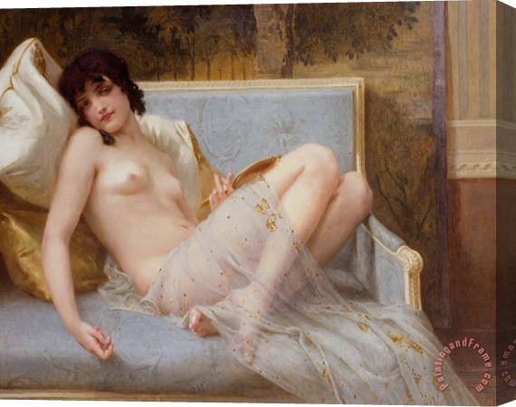 Guillaume Seignac Indolence Stretched Canvas Print / Canvas Art
