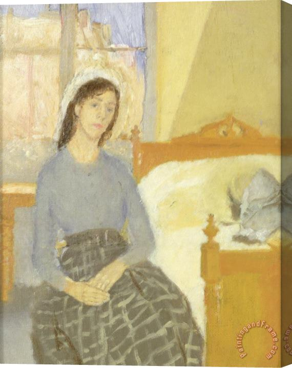 Gwen John The Artist in her Room in Paris Stretched Canvas Print / Canvas Art