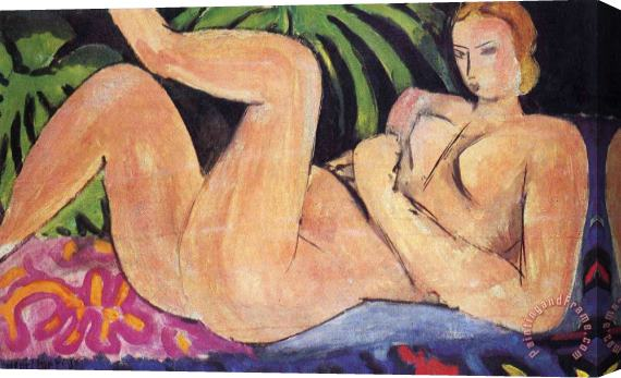 Henri Matisse A Nude with Her Heel on Her Knee 1936 Stretched Canvas Print / Canvas Art