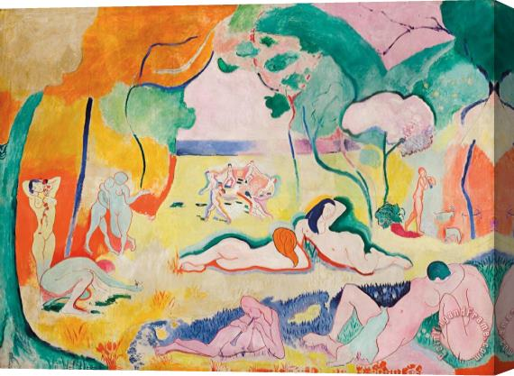 Henri Matisse The Joy of Life 1906 Stretched Canvas Print / Canvas Art