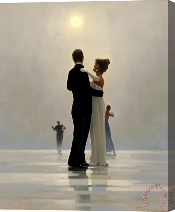 Jack Vettriano Dance Me to The End of Love Stretched Canvas Print / Canvas Art