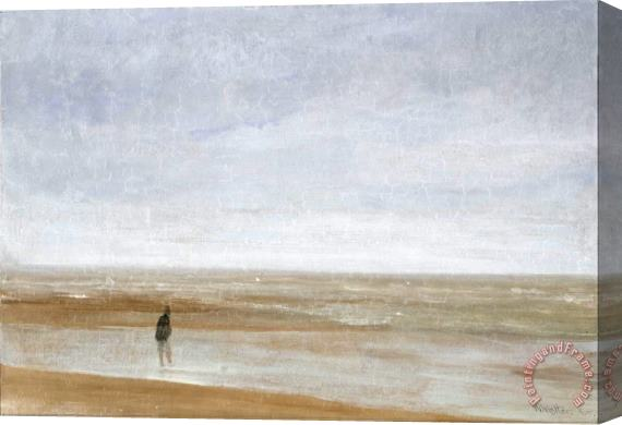 James Abbott McNeill Whistler Sea And Rain Stretched Canvas Print ...