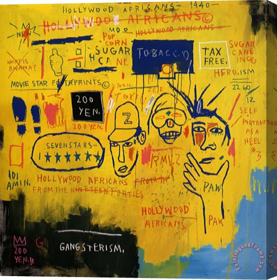 Basquiat Hollywood Africans Jean-michel Basquiat Hollywood
