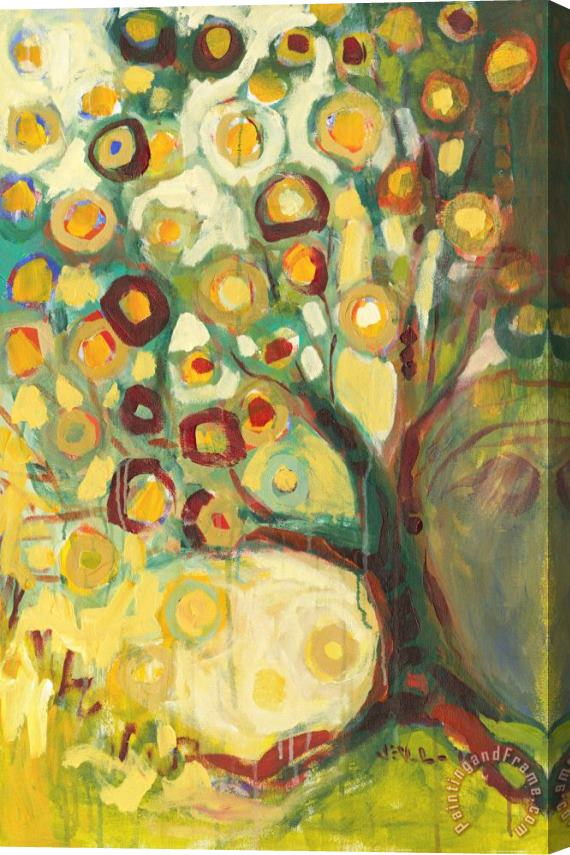 Jennifer Lommers Tree of Life in Autumn Stretched Canvas Print / Canvas Art
