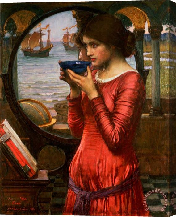 John William Waterhouse Destiny Stretched Canvas Print / Canvas Art