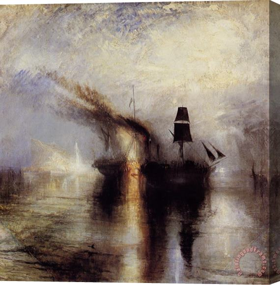 Joseph Mallord William Turner Peace Stretched Canvas Print / Canvas Art