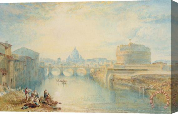 Joseph Mallord William Turner Rome Stretched Canvas Print / Canvas Art