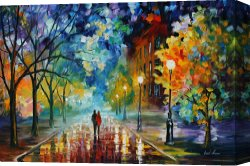 Surreal Canvas Prints - Freshness Of Cold by Leonid Afremov