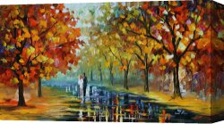 Surreal Canvas Prints - Romantic Moment by Leonid Afremov