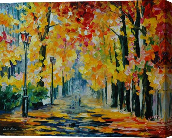 Leonid Afremov Sunday Stretched Canvas Print / Canvas Art