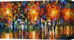 Surreal Canvas Prints - The Song Of Rain by Leonid Afremov