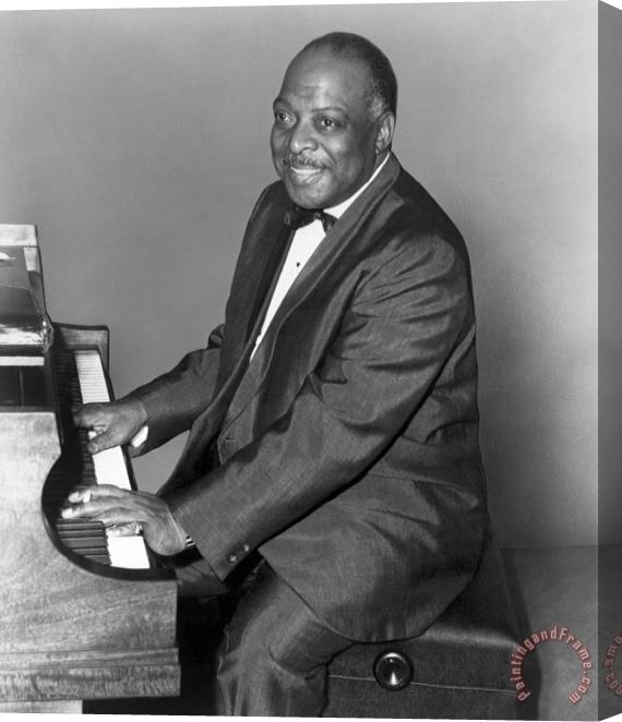 Others Count Basie (1904-1984) Stretched Canvas Print / Canvas Art