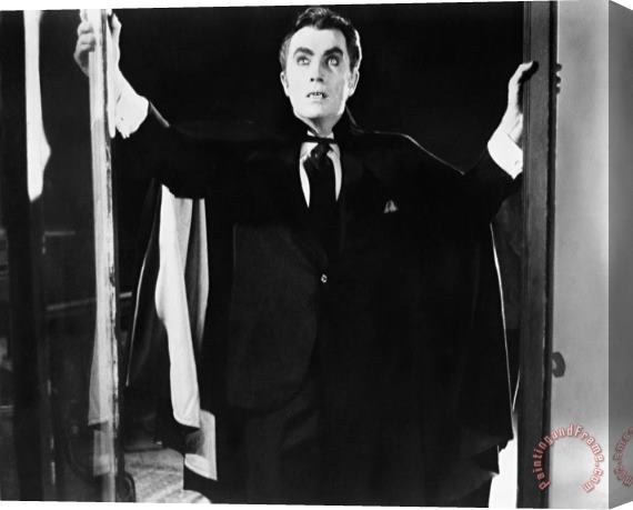 Others Film: Count Yorga, Vampire Stretched Canvas Print / Canvas Art