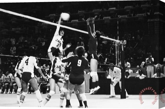 Others Olympics: Volleyball, 1976 Stretched Canvas Print / Canvas Art