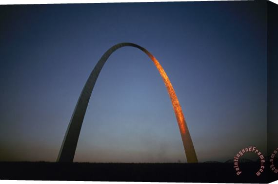 Others St. Louis: Gateway Arch Stretched Canvas Painting / Canvas Art