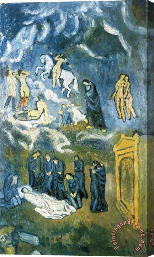 Pablo Picasso Evocation The Burial Of Casagemas 1901