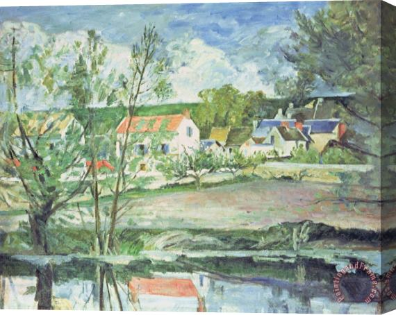 Paul Cezanne In The Oise Valley Stretched Canvas Print / Canvas Art