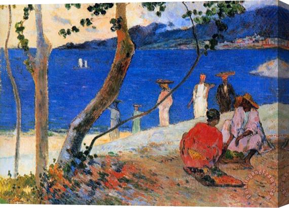 Paul Gauguin Martinique Island Stretched Canvas Print / Canvas Art