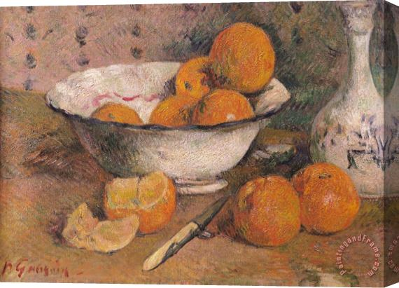 Paul Gauguin Still life with Oranges Stretched Canvas Print / Canvas Art