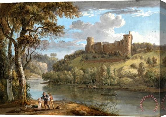 Paul Sandby Bothwell Castle, From The South Stretched Canvas Print / Canvas Art