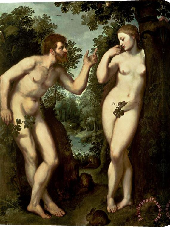 Peter Paul Rubens Adam and Eve Stretched Canvas Print / Canvas Art