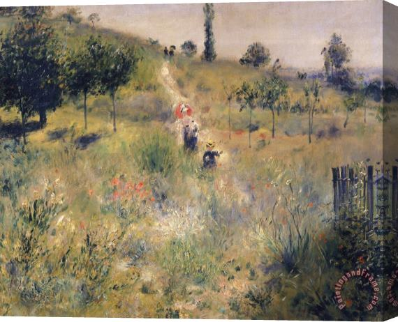 Pierre Auguste Renoir The Path through the Long Grass Stretched Canvas Print / Canvas Art
