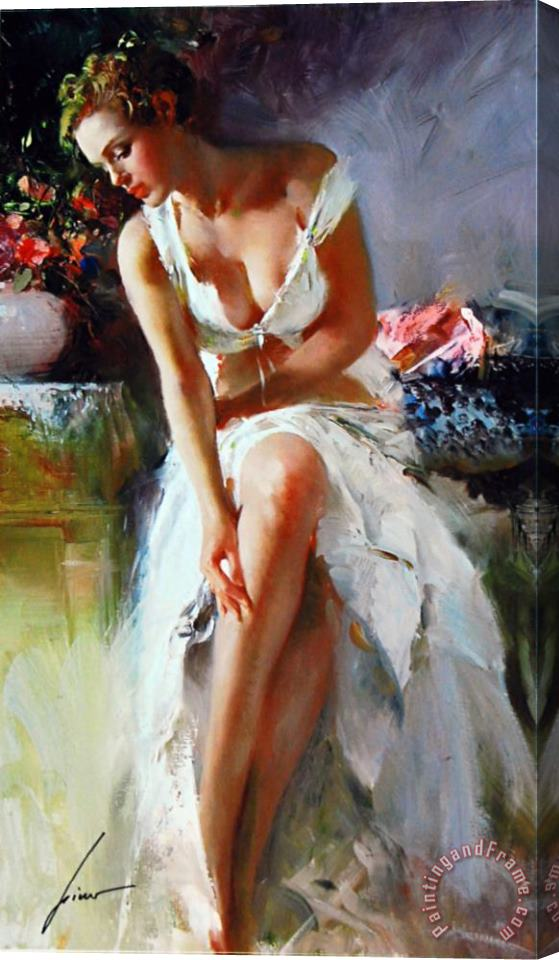 Pino Daeni Angelica 2 Stretched Canvas Print / Canvas Art