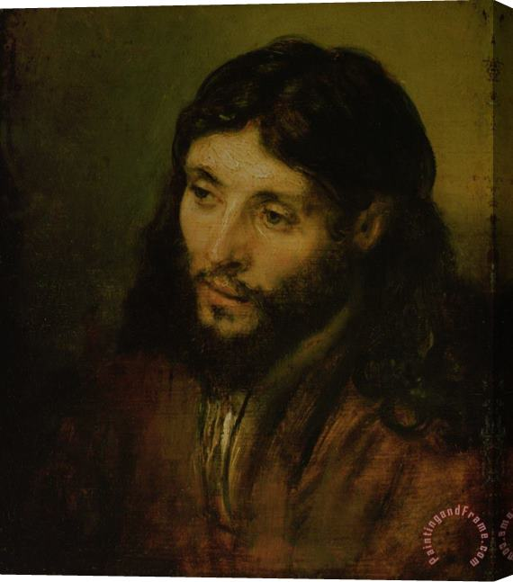 Rembrandt Head of Christ Stretched Canvas Print / Canvas Art