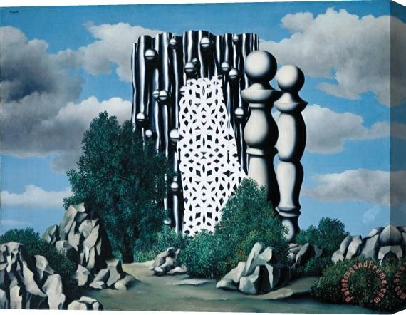 rene magritte Annunciation 1930 Stretched Canvas Print / Canvas Art