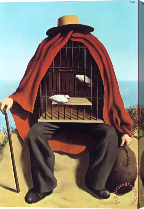 Rene Magritte The Therapeutist 1937 Stretched Canvas Print