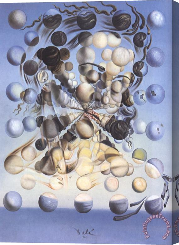 Salvador Dali Galatea of The Spheres Stretched Canvas Print / Canvas Art
