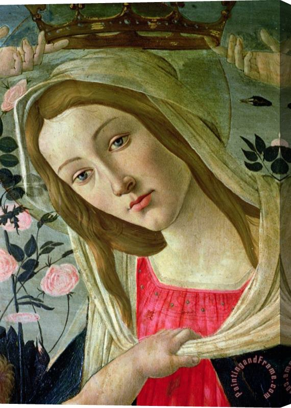 Sandro Botticelli Madonna and Child Crowned by Angels Stretched Canvas Painting / Canvas Art