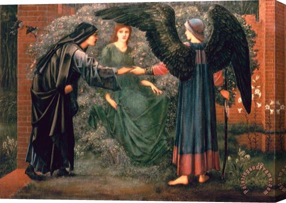 Sir Edward Burne-Jones Heart of the Rose Stretched Canvas Print / Canvas Art