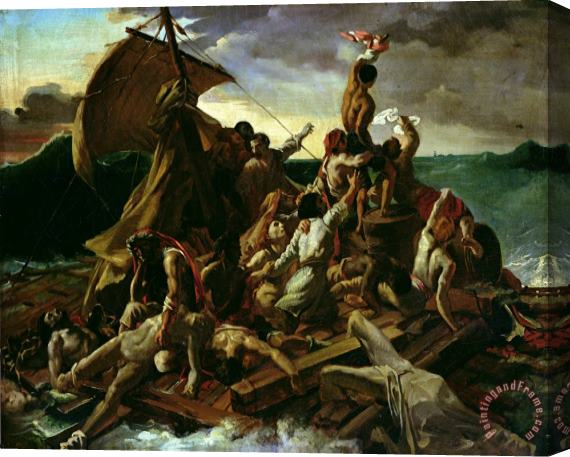 Theodore Gericault The Raft of the Medusa Stretched Canvas Print / Canvas Art