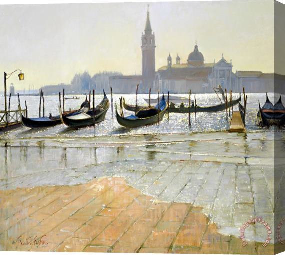 Timothy Easton Venice at Dawn Stretched Canvas Print / Canvas Art