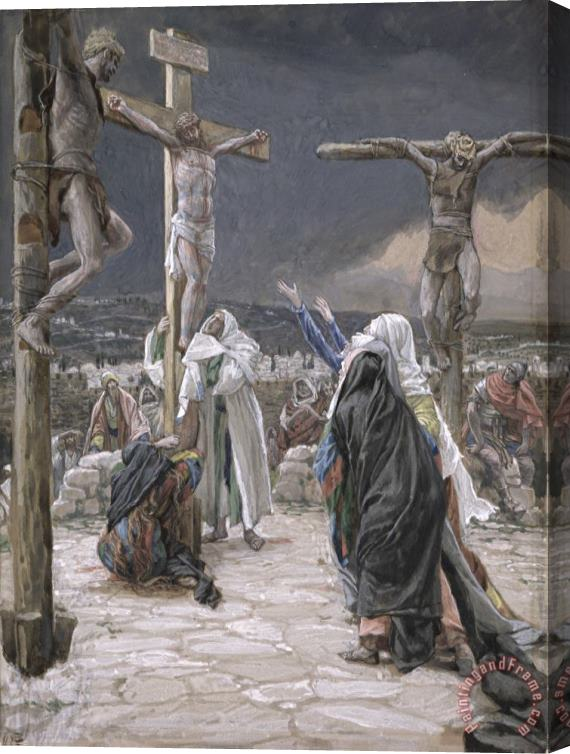 Tissot The Death of Jesus Stretched Canvas Print / Canvas Art