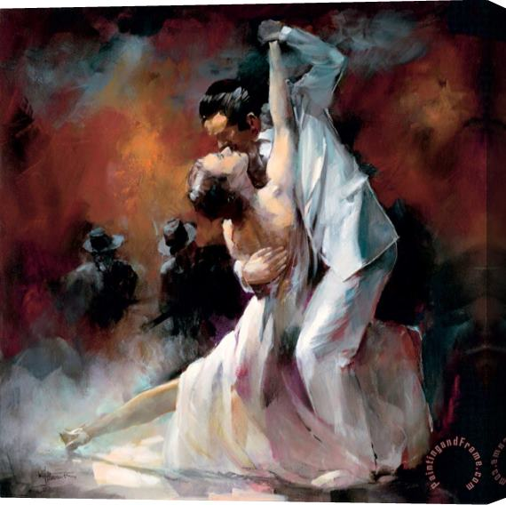 willem haenraets Tango Argentino I Stretched Canvas Print / Canvas Art