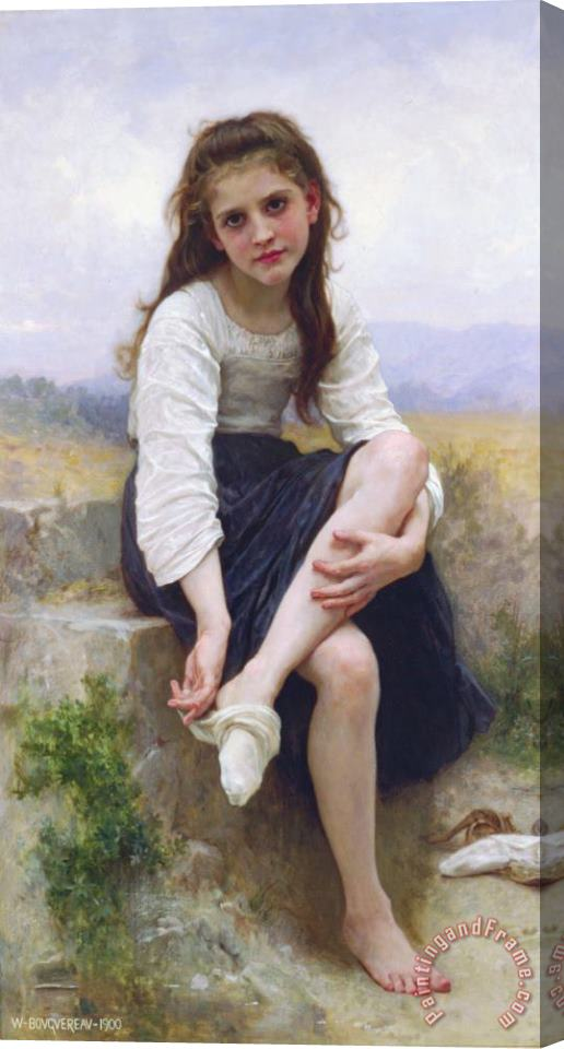 William Adolphe Bouguereau Before The Bath (1900) Stretched Canvas Print / Canvas Art