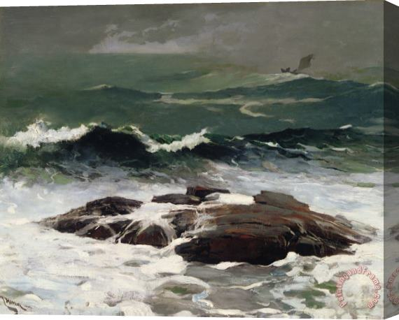 Winslow Homer Summer Squall Stretched Canvas Print / Canvas Art
