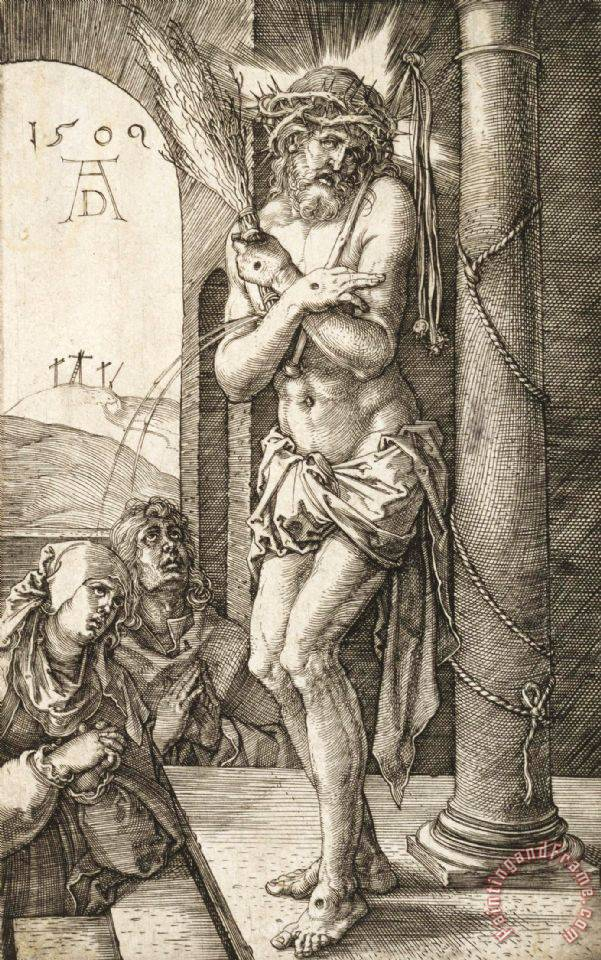 Man of Sorrows painting - Albrecht Durer Man of Sorrows Art Print