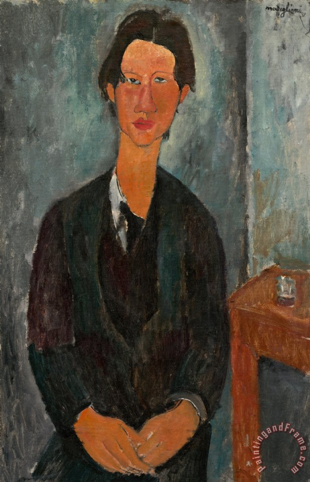 Amedeo Modigliani Chaim Soutine Art Print
