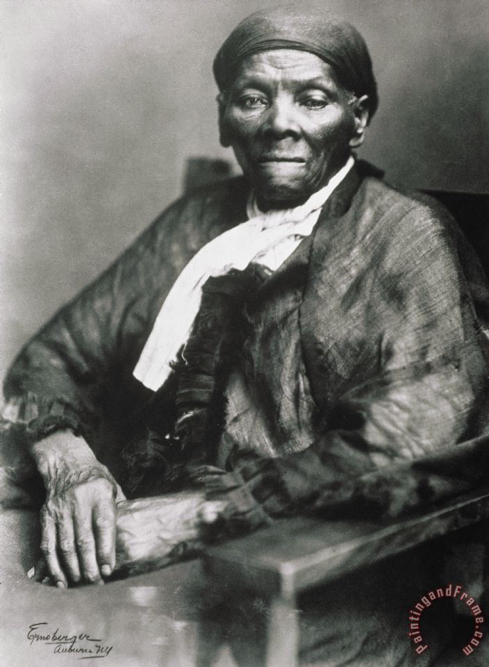 Harriet Tubman painting - American School Harriet Tubman Art Print