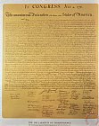 After School Prints - Declaration of Independence by American School
