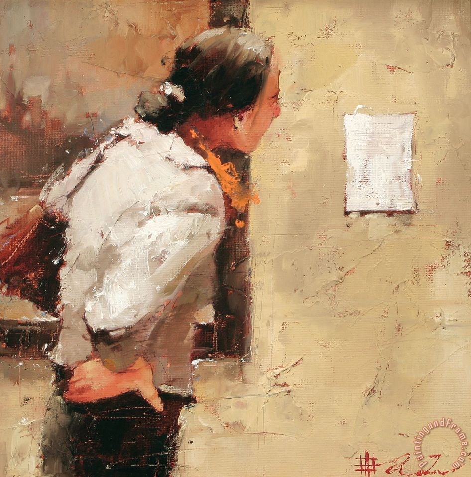 Andre Kohn About The Artist Painting About The Artist