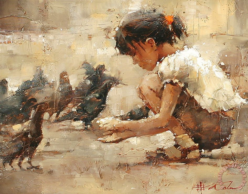 Andre kohn saint mark 39 s square painting saint mark 39 s for Painting for sale by artist